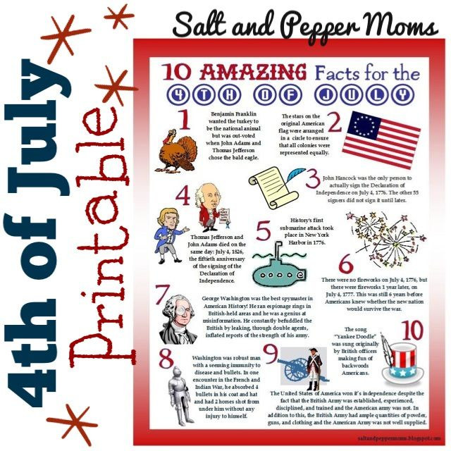 photo relating to 4th of July Trivia Printable known as Cost-free Printable: Freedom Working day Trivia Info for Youngsters