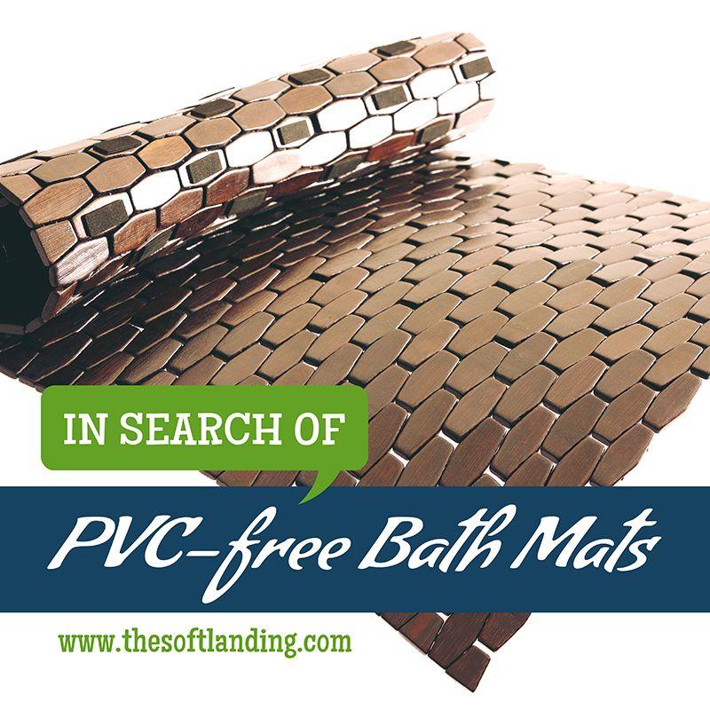 In Search of PVC Free Non-Slip Bath Mats | Bath mat, Bath and Free