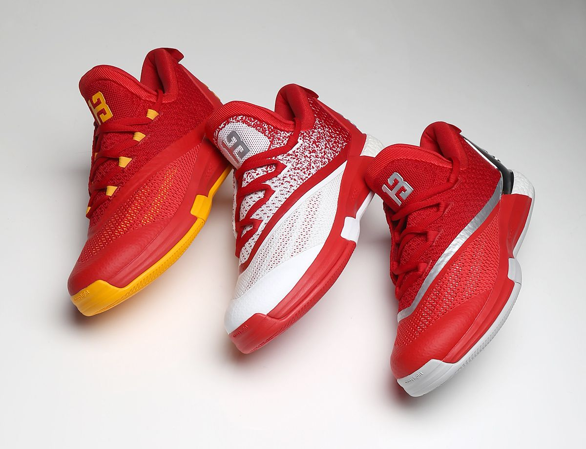 James Harden adidas Crazylight Boost 2 5 13 Lineup  05455c7f4