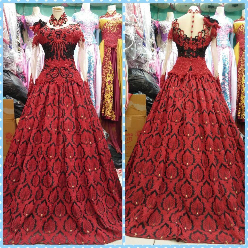 Jewelled maxi dress ukuran