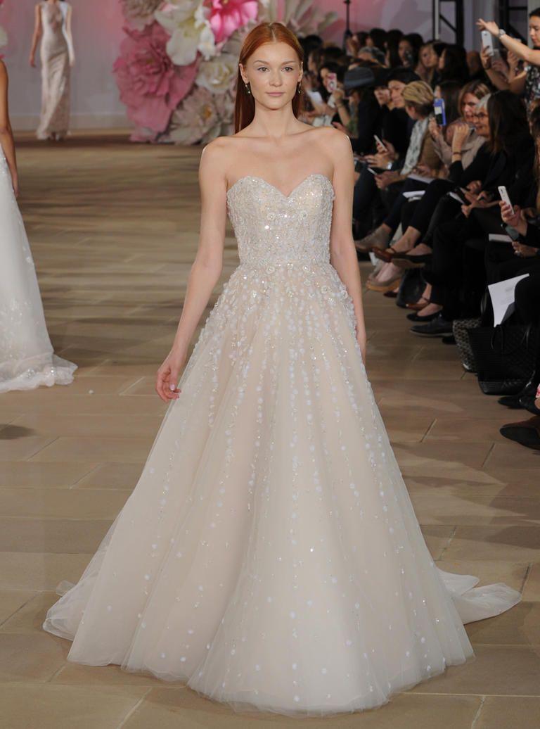 Young girls wedding dresses  Ines Di Santous Stunning Sheer Wedding Dresses for SpringSummer