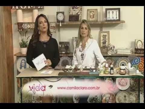 Placa decorativa com madeira Rede Vida Vida Melhor 12 05 2016 Camila...