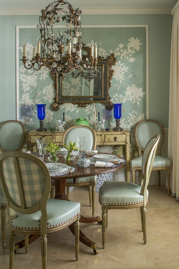 The Chinoiserie Dining Room Chinoiserie Chic The