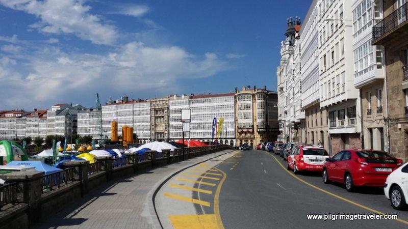 La Coruña In Galicia Spain Gateway To The Camino Inglés Camino De Santiago La Coruña Spanish Regions