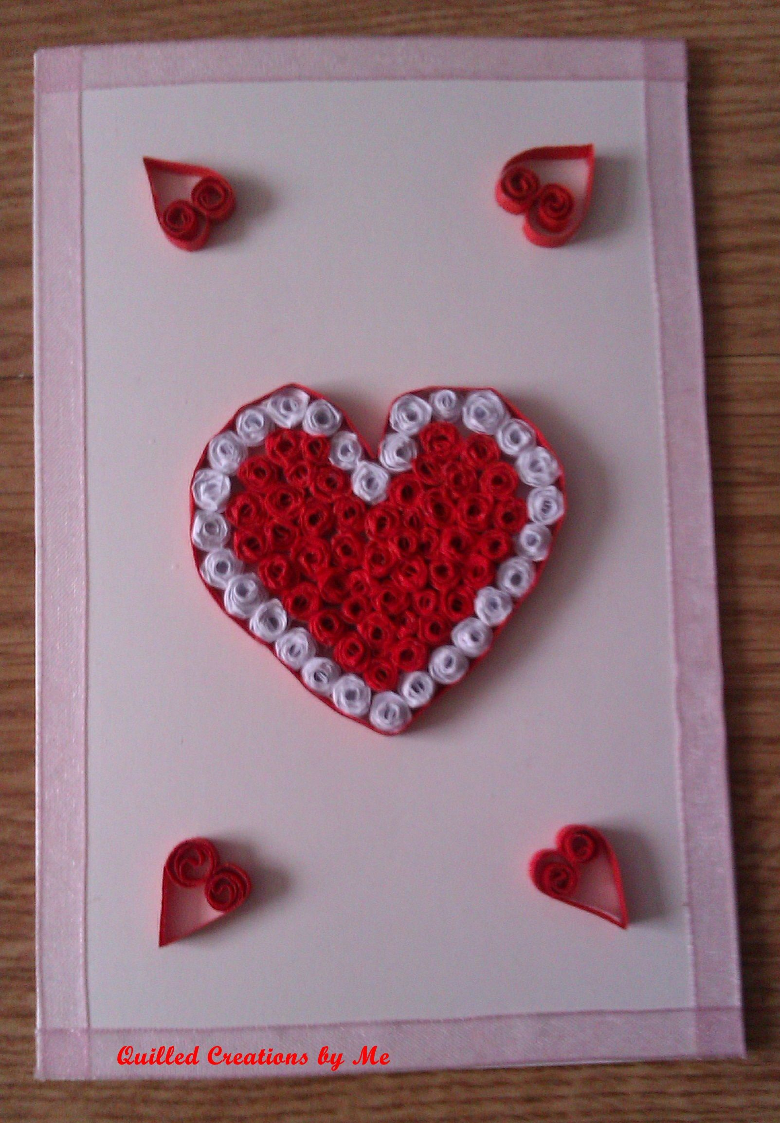 Valentines Day Mothers Day Or Birthday Card By Tatiana