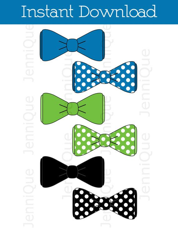 51811e6607196 Printable Bow Tie, Bow Tie Cut Outs, Bow Tie Baby Shower Decoration ...