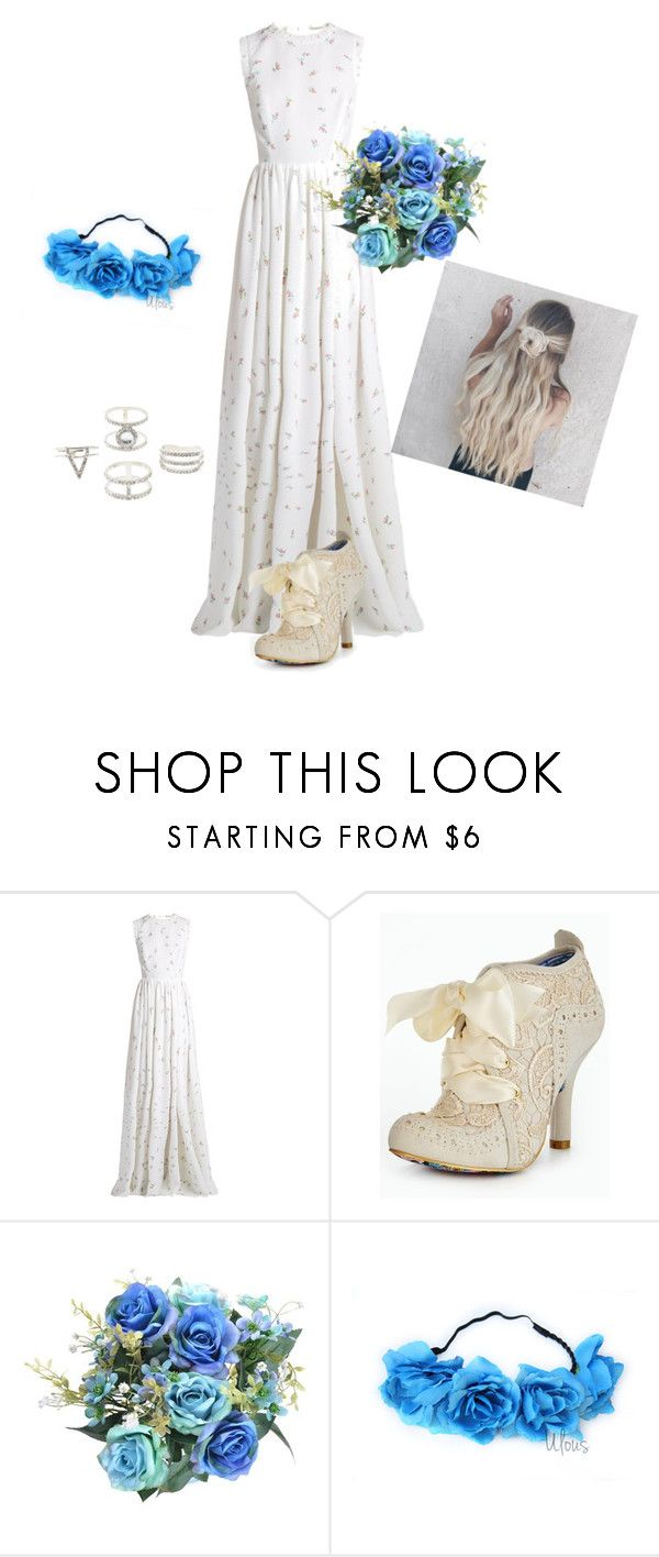 """Untitled #586"" by pandadance ❤ liked on Polyvore featuring Emilia Wickstead, Irregular Choice and Charlotte Russe"