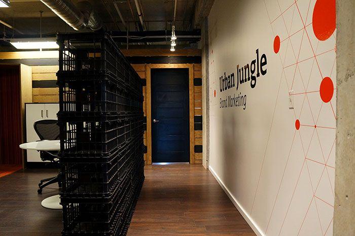 Urban Jungle office design by Hatch Interior Design ...