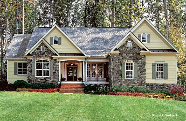 Don Gardner House Plans Country Style House Plans Country House Plans Craftsman House