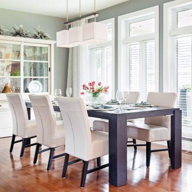 Une salle à manger transformée par la peinture salle à manger avant après