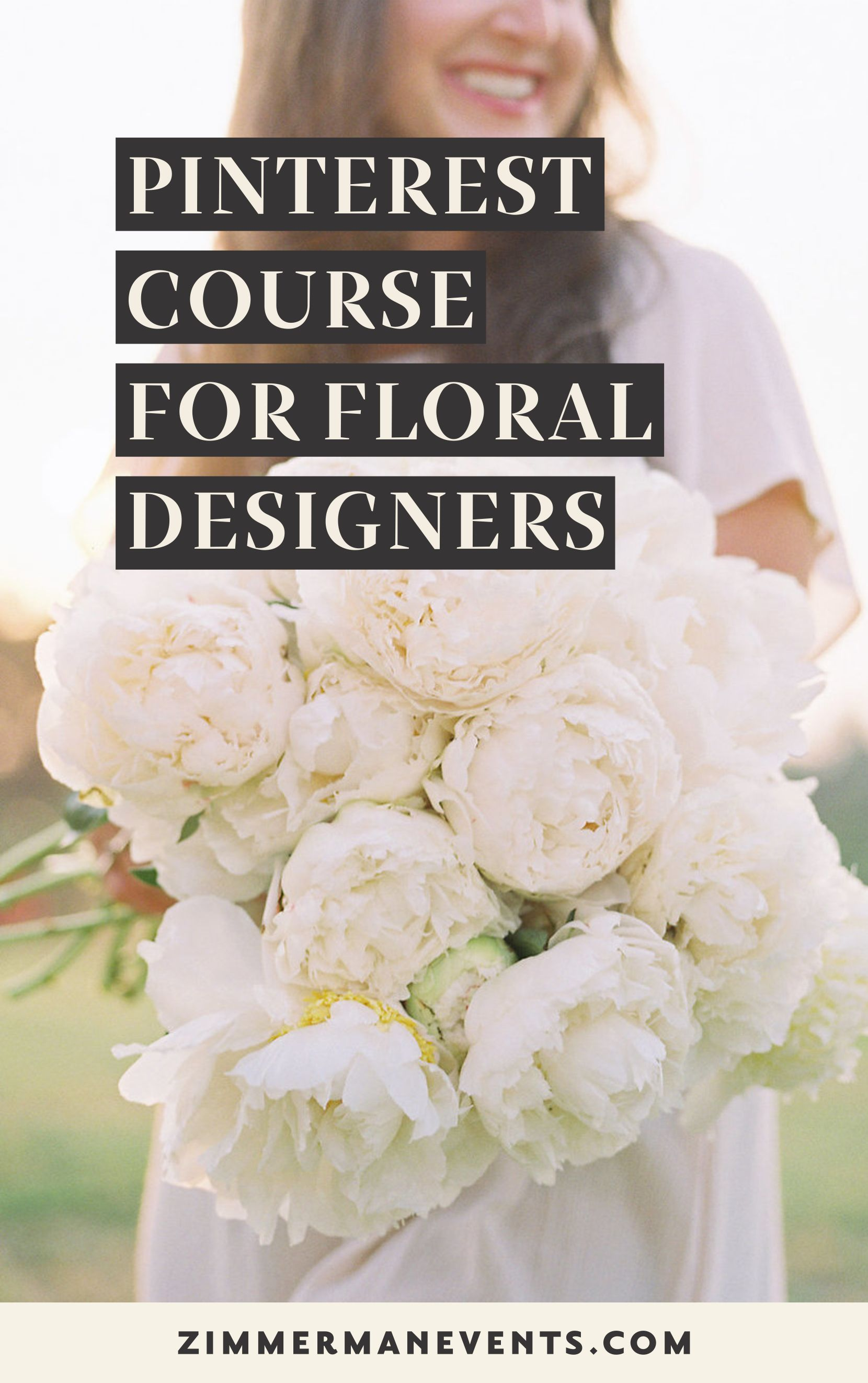 Pinterest Course For Floral Designers Wedding Planner Business Wedding Planning Business Wedding