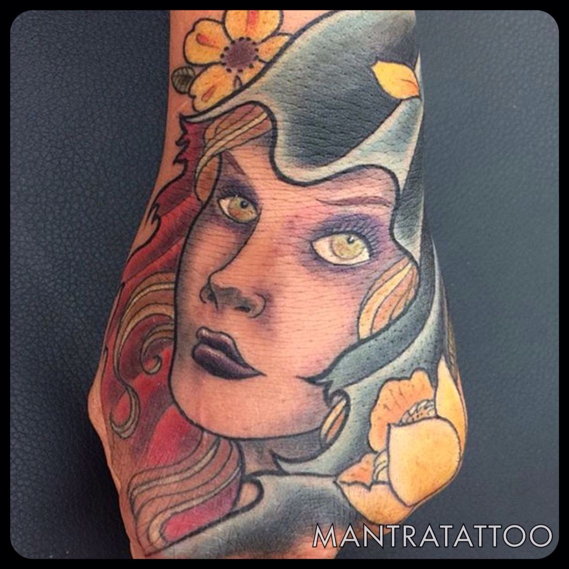 Beautiful hand piece done by Ben Parker here at Mantra tattoo.