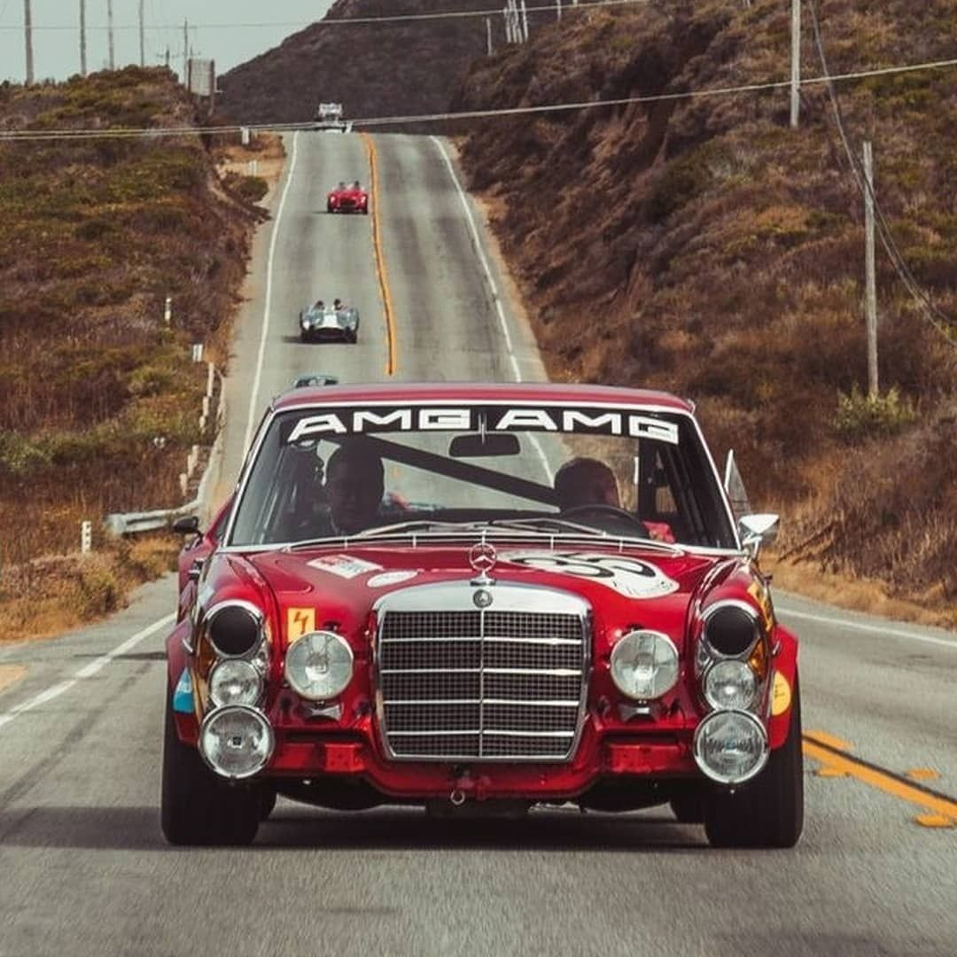 Mercedes Benz 300SEL 6.8 AMG 'Red Pig' (W109) (1970-1971