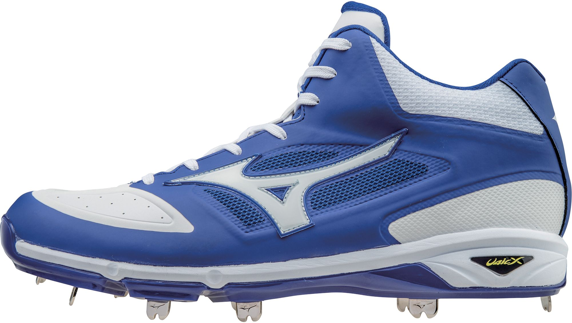 Photo of MIZUNO Men's Dominant IC Metal Mid Baseball Cleats