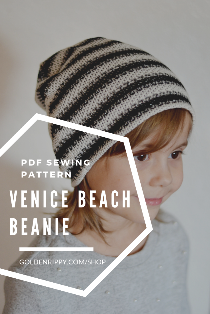 Venice Beach Beanie Lovely Things To Sew Sewing Projects For