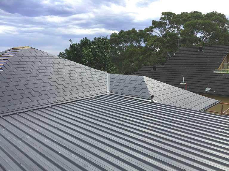 Slate roofs are weatherproof , minimize water damage. Both