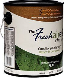Freshaire Choice No Voc Interior Paint Available At Home Depot