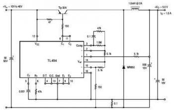 The TL494 Datasheet and Pulse Width Modulated Step Down Converter ...