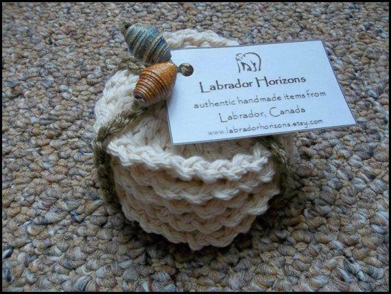 5 Authentic LABRADORIAN Circular Crochet Makeup remover pads Facial washer reusable enviromentally friendly cream 100% Cotton Wool handmade