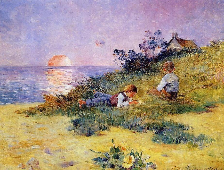 Che cosa fanno i bambini tutto il giorno?Fabbricano ricordiDino Risi-F.Du Puigaudeau #art #artwit #twitart #painting pic.twitter.com/gvemtUoM5E