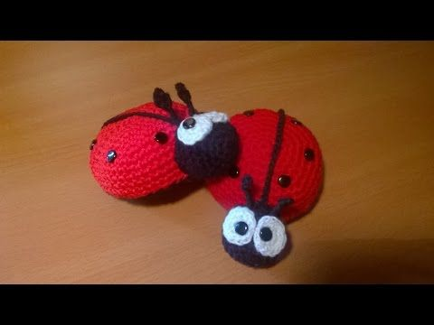 Coccinella Uncinetto Amigurumi Tutorial Ladybug Crochet