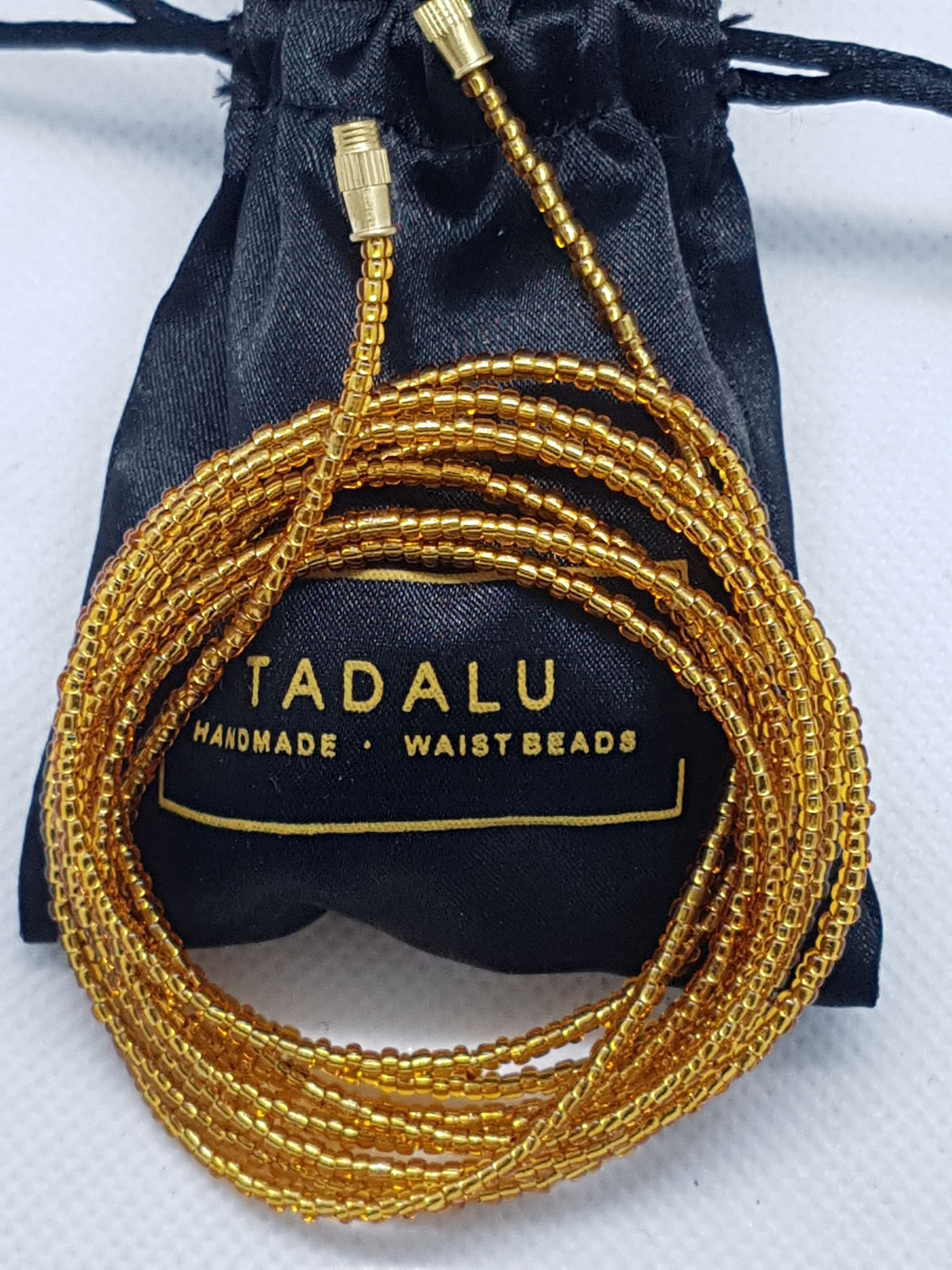 It is said that the beads shape your body and keep the
