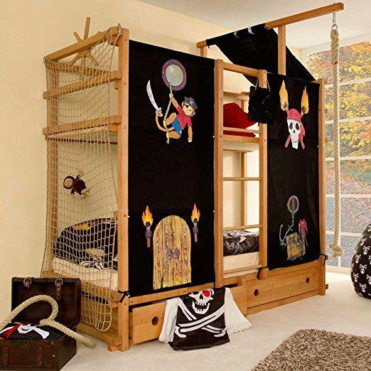 piraten ahoi ein tolles kinderbett f r zwei kinder ein. Black Bedroom Furniture Sets. Home Design Ideas