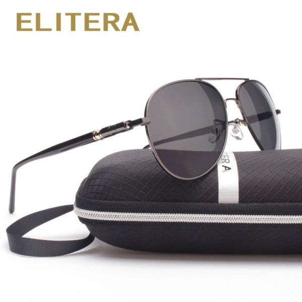 4dafa40233 Eyewear · Elitera New Arrival Polarized Men Sunglasses Aviator Look New  Design ...