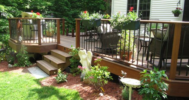 Great Backyard Landscaping Ideas That Will Wow You Deck