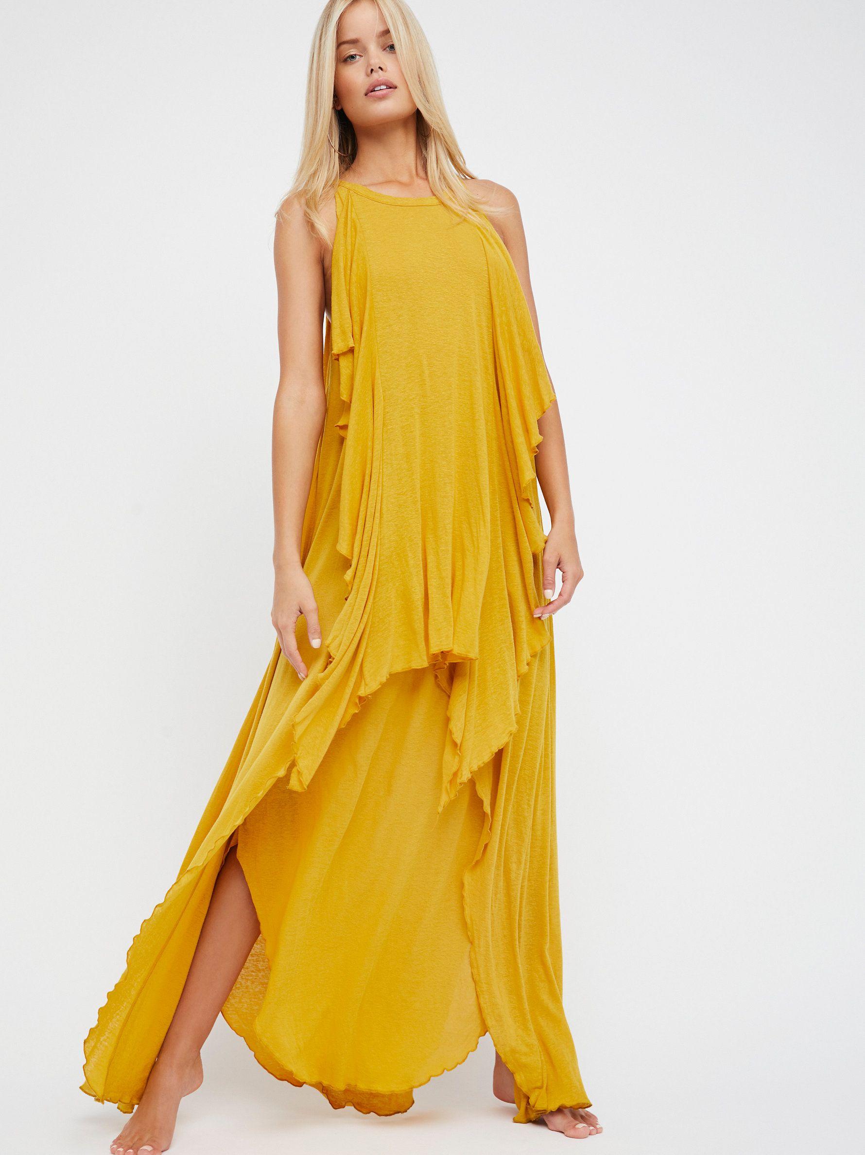 7d30d06e35b Oh My Goddess Maxi Dress