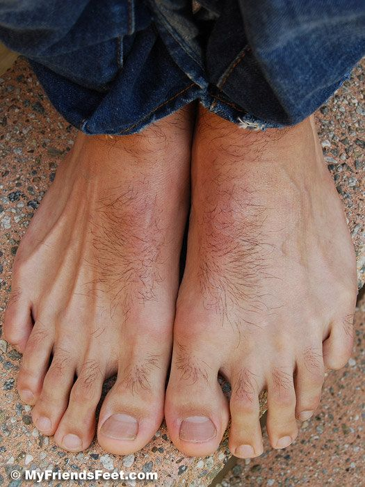 feet lovers Hairy