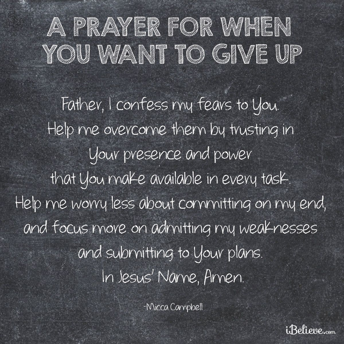 Bible Am Going To Deliver You: A Prayer For When You Want To Give Up