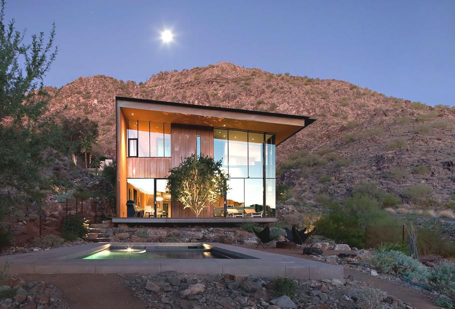 Jarson Residence Usa Spectacular Modern Glass Facades - Contemporary glass residence