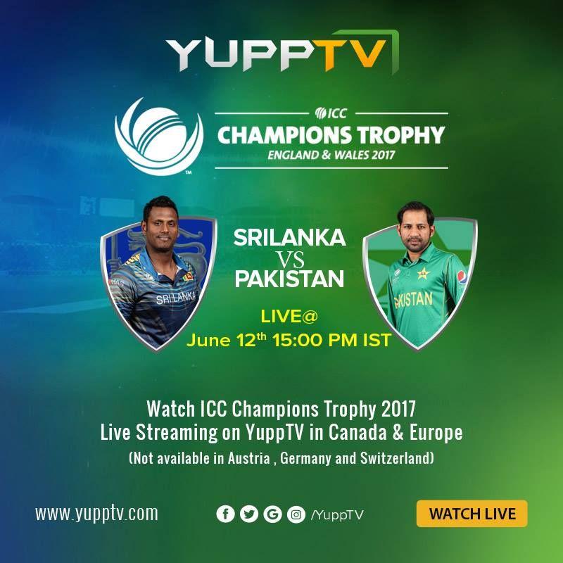 CT17 Sri Lanka vs Pakistan Match Today. Pakistan won the