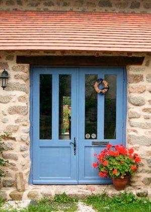 Blue Doors Yes Please Found Gites De France Limousin Co Uk Site
