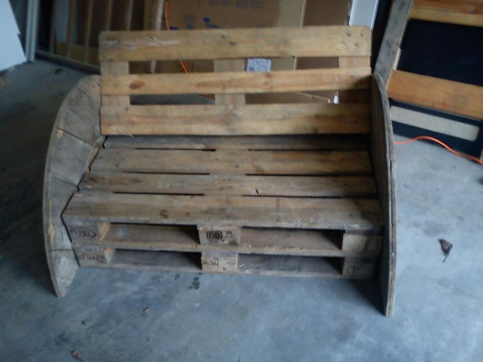 Convertible Pallets sofa