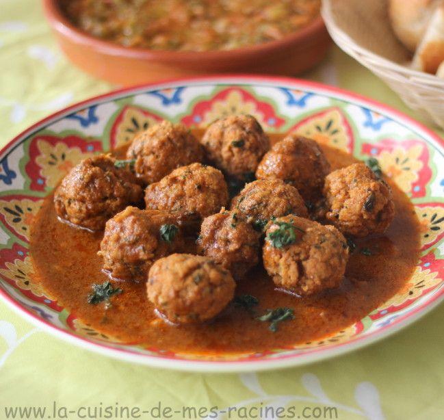 Tajine de boulette de poisson  #cuisinealgérienne