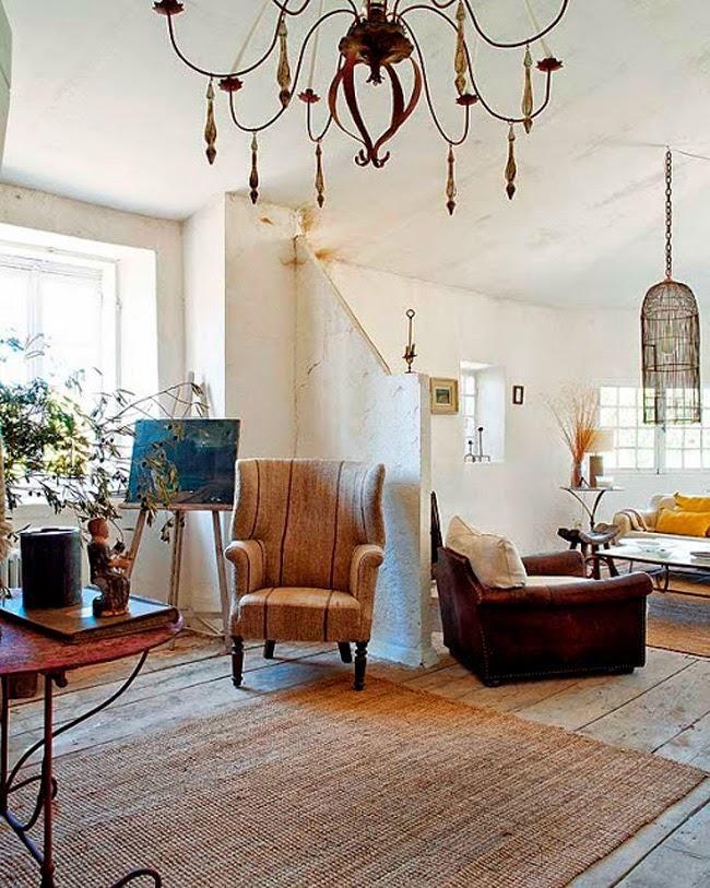 CLAVES DEL ESTILO SHABBY RURAL: LA CASA DE JOSEPHINE RYAN. | Decorar tu casa es facilisimo.com