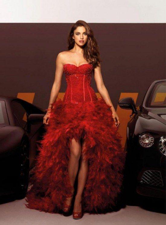 Vestidos rojos para novia