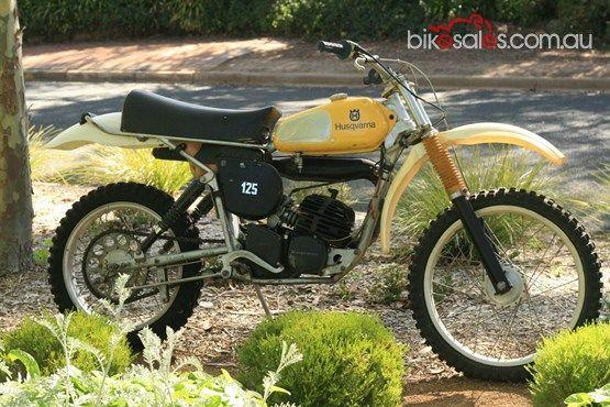 1975 Husqvarna 125cr Vintage Motocross Enduro Motocross Vintage Bikes