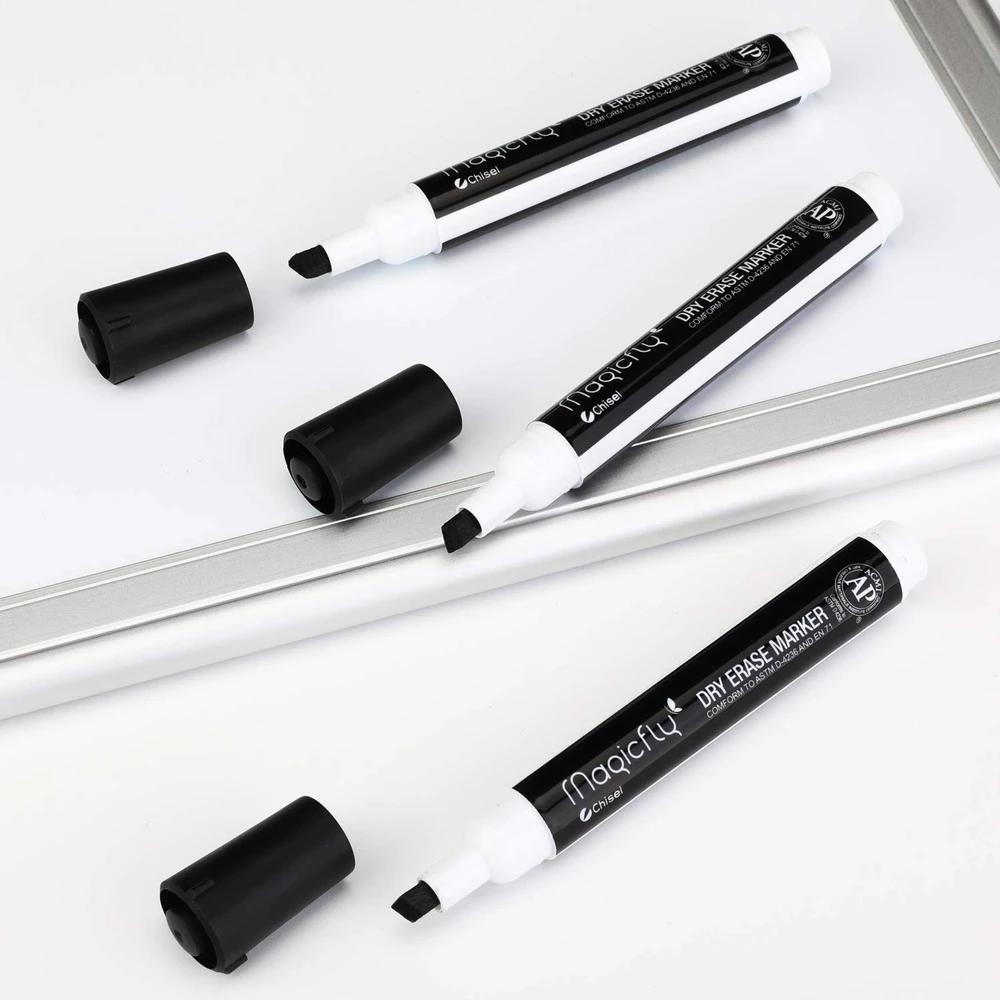 Dry Erase Markers Chisel Tip Black Color Set Of 64 Magicfly Dry Erase Markers Dry Erase Markers