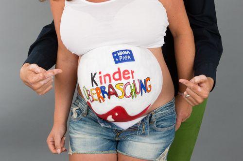 Babybauch überraschungsei