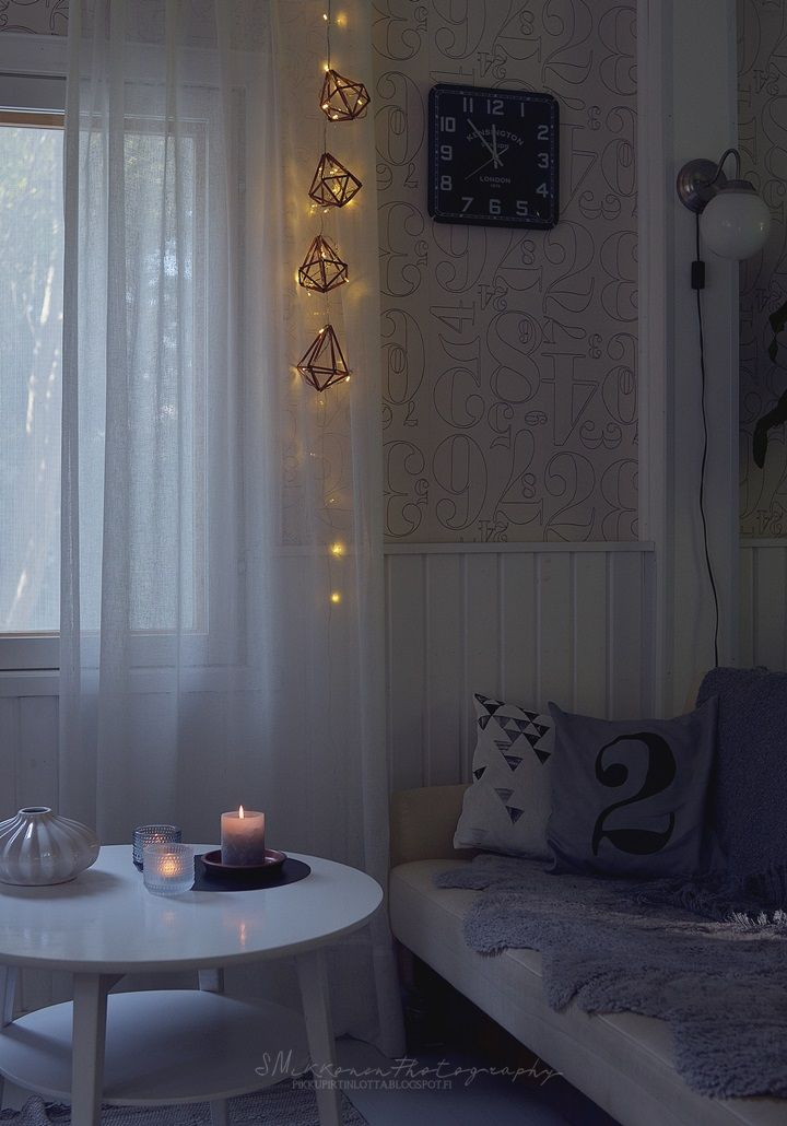PIKKUPIRTIN // LOTTA: DIY timanttivalot // DIY diamond lights