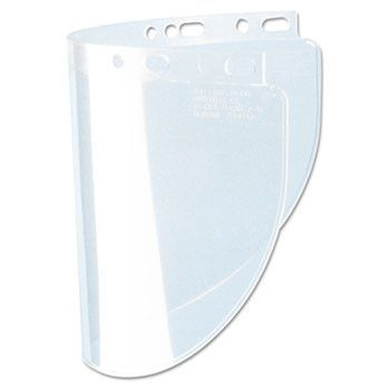 High Performance Face Shield Window, Wide Vision, Propionate, Clear