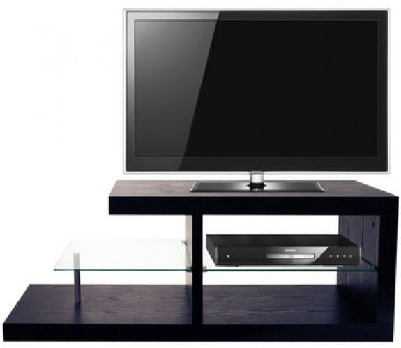 Details About Modern TV Stand TVs Up To 42 Wooden Glass Unit Entertainment Media Ps3 Xbox NEW