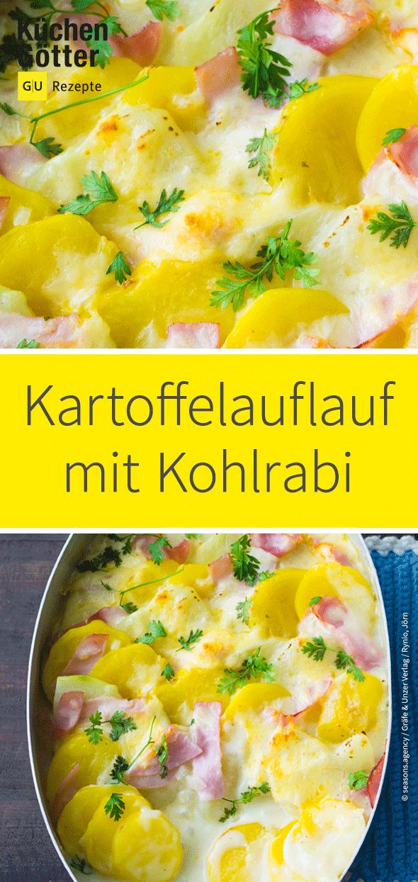 Kartoffel-Kohlrabi-Auflauf #vegetarischerezepteschnell