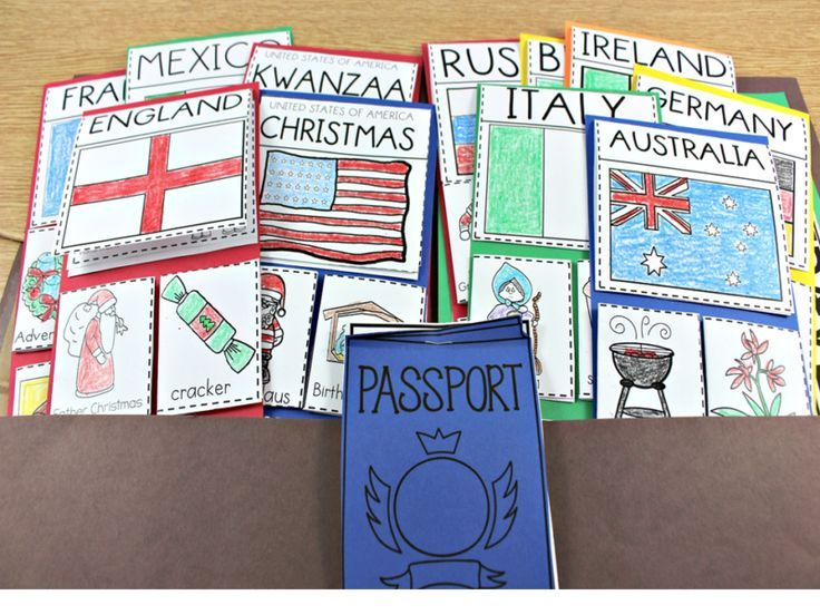 Christmas Around The World Craft Ideas Part - 18: Holidays Around The World