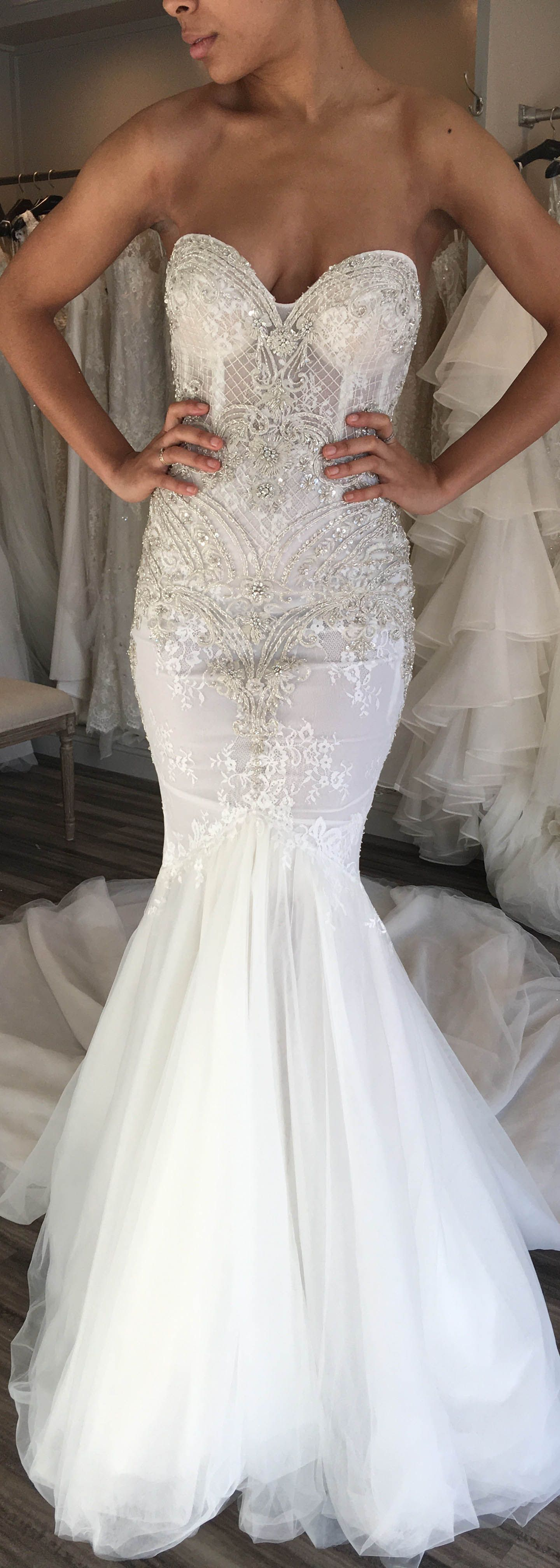 This Stunning Berta Dress Is Available For Off The Rack Purchase At