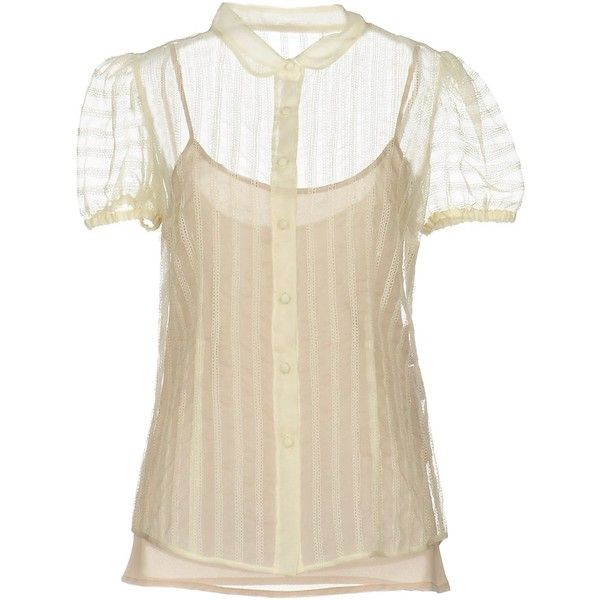 b192c420069aa Redvalentino Shirt ( 395) ❤ liked on Polyvore featuring tops