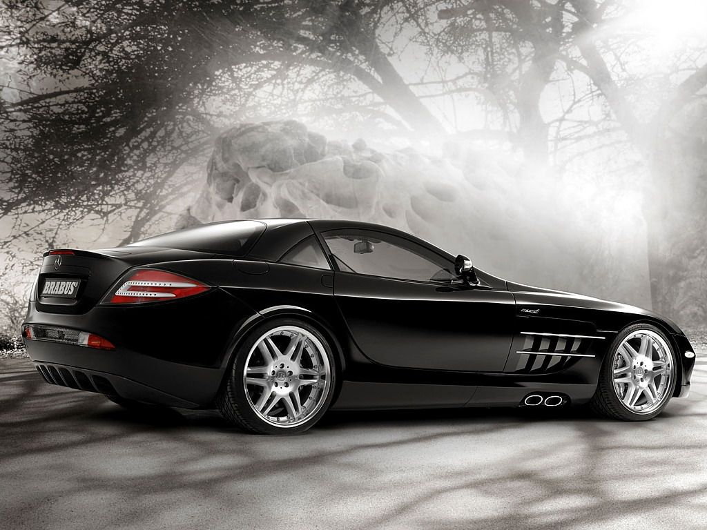 Wonderful Mercedesu003dBenz SLR From Brabus #CarFlash